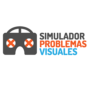 Visual problems simulator Logo
